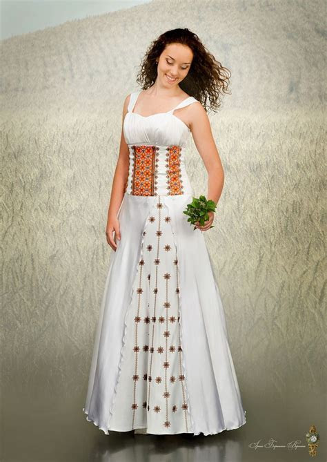 Ukrainian wedding dress   weddingcafeny.com