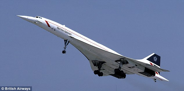 It's more than a decade since Concorde (pictured) was retired from service. No company will build a supersonic passenger plane unless it is allowed to fly supersonically over land - something that was off-limits for Concorde