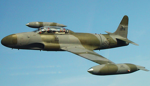 Lockheed T33 Shooting Star