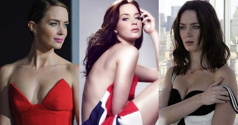 Emily Blunt Hot Pics (@Tumblr) | Top 12 Hottest