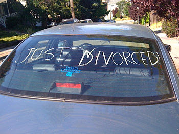 LOL Just divorced. And no, that's not my car.
