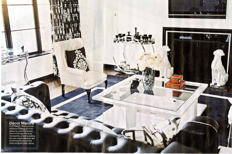 Instyle March 08 Inside The Homes Of Nikki Hilton And Frida Gianni Nicole Gibbons Style