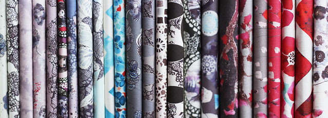 My wonderland fabric collection