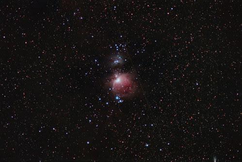 Messier 42 / 43 on Kodak Gold 100 by Nightfly Photography