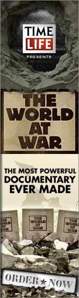 The ultimate visual history of World War II. From North Africa to Stalingrad, D-Day, Iwo Jima, and Japan. Experience hours of footage once deemed too shocking for the public eye. Unseen video collected from the archives of 18 nations. Includes bonus DVD! Order now and never look at WWII the same again.  Click here for details...