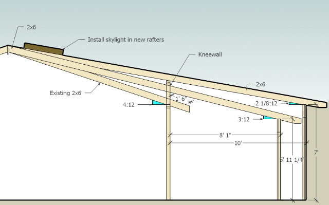 Learn Adding A Shed Roof To An Existing Roof Mak