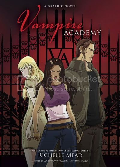 vampire academy graphic novel by richelle mead