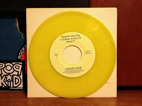 "Jawbreaker / Steel Pole Bath Tub / The Punchline - Surprise Your Pig Split 7"" by Tim PopKid"