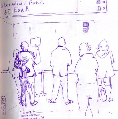 February 2011: Waiting at SFO