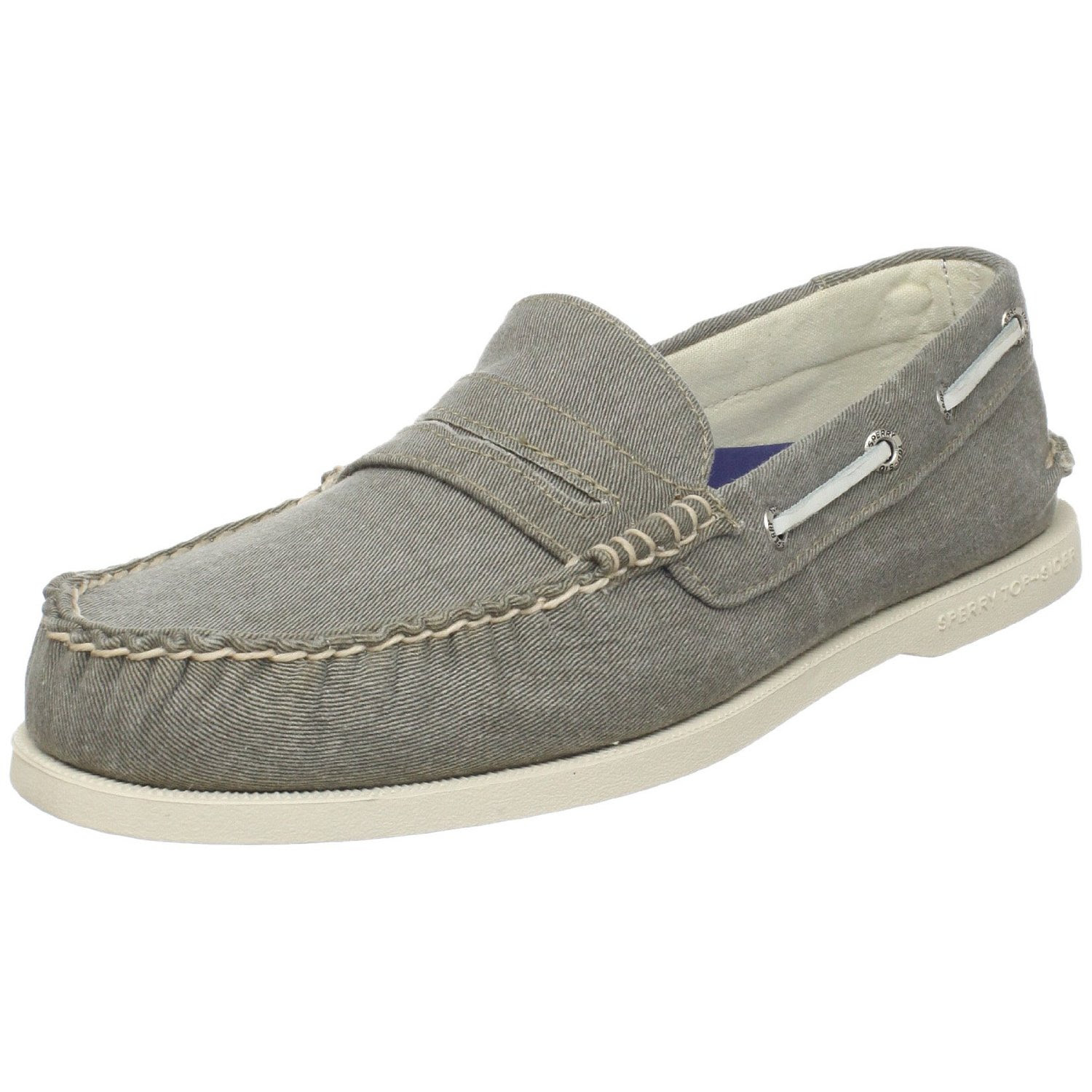 Sperry Top-sider Mens A O Salt Wash Penny Loafer in Green ...