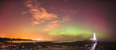 L'aurora boreale nei cieli britannici