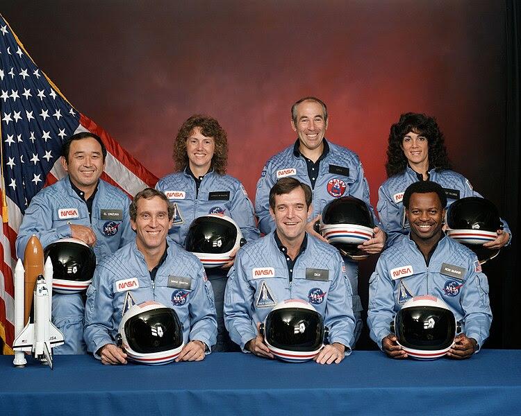 File:Challenger flight 51-l crew.jpg