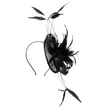 Firecracker Fascinator - Black