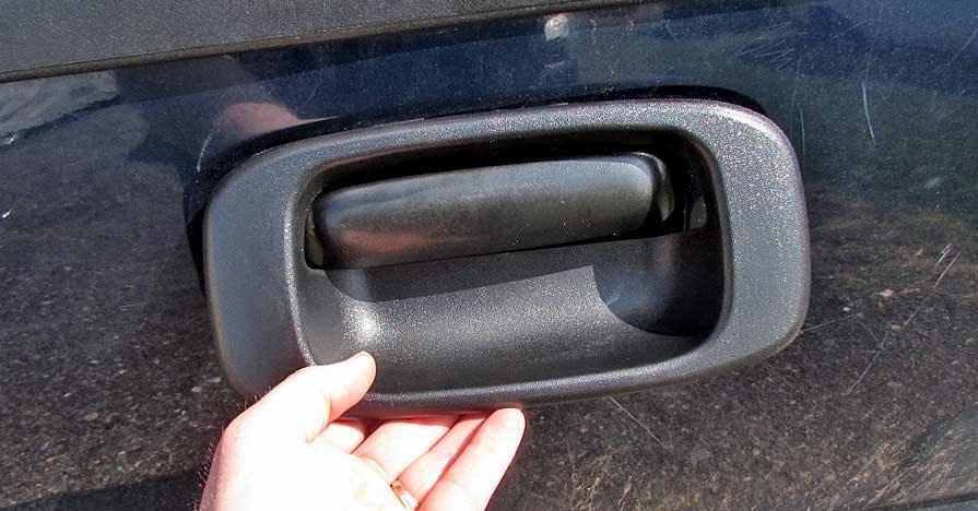 Chevy Express Rear Door Latch Diagram