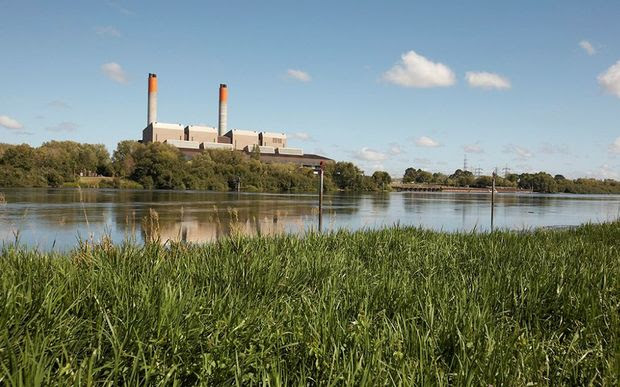 Genesis Energy's Huntly Power Station.
