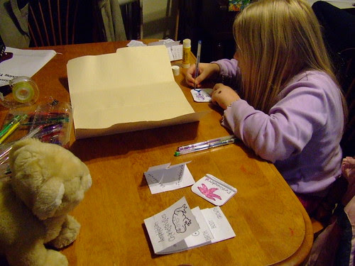 Making a lapbook by Andrea_R, on Flickr