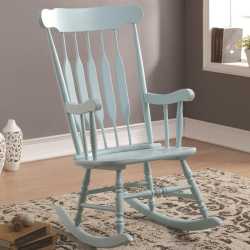 Coaster Accent Seating Accents Rocking Chair  Coaster