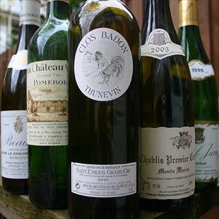 Guyon, Vieux Chateau Certan, Clos Badon Thunevin, Raveneau, Jarry