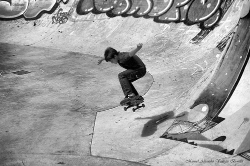 Santiago de Chile, Skate Park. by Alejandro Bonilla