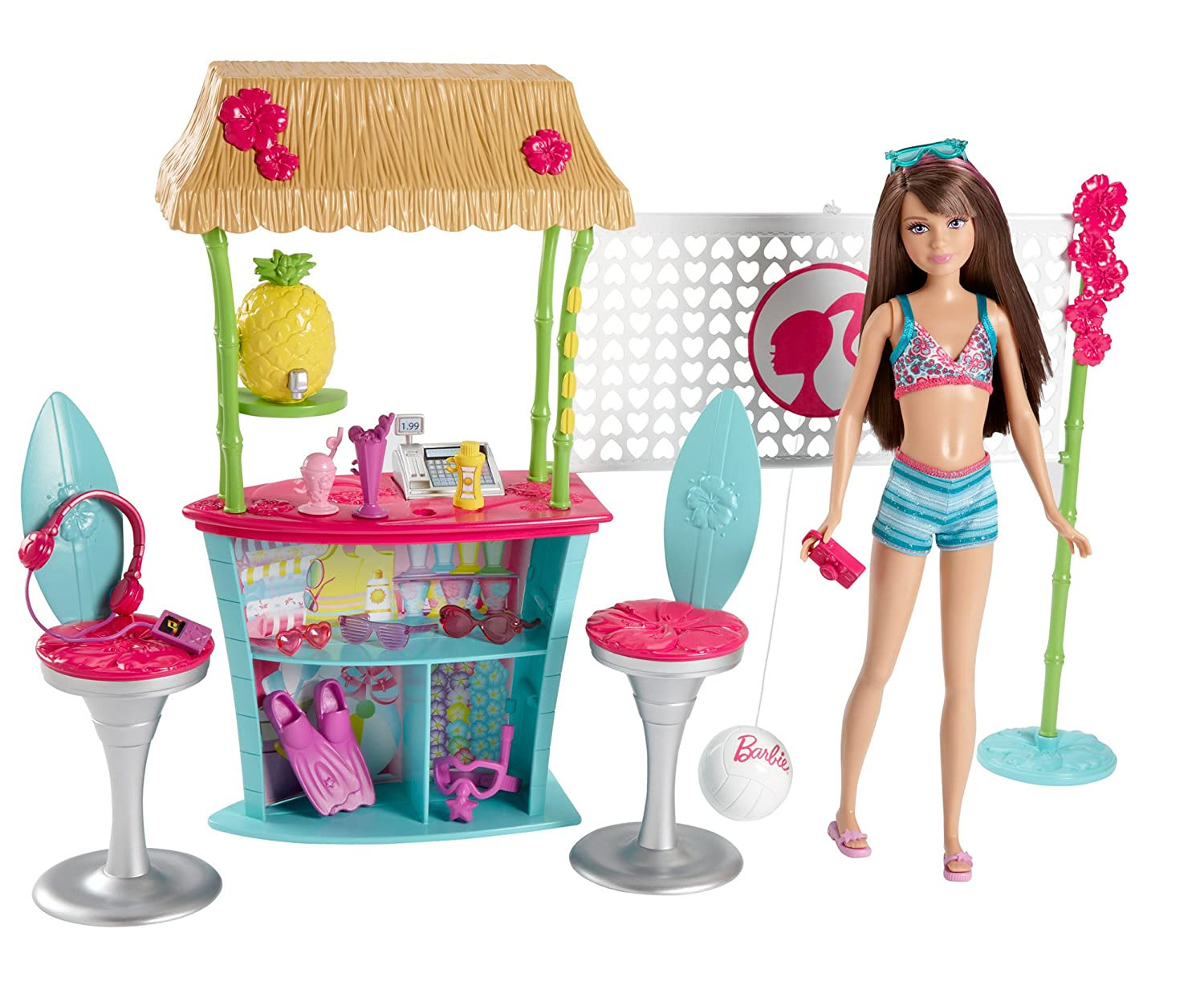 Barbie's Sister Skipper and the Tiki Hut