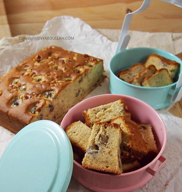 resepi kek pisang kacang walnut contoh jos Resepi Kek Batik Biskut Marie Chef Wan Enak dan Mudah
