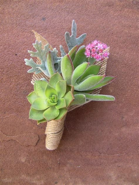 Succulent Boutonniere & Corsages   Gallery   Urban Succulents