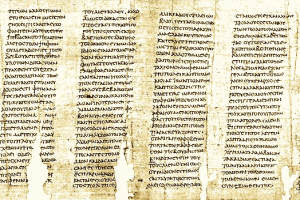 Papyrus bookscroll