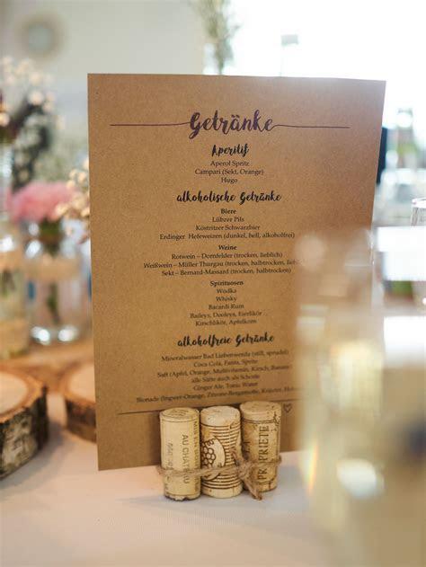 Getränkekarte   Unsere Hochzeit   Pinterest   Wedding