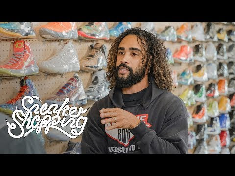 Jerry Lorenzo (Fear Of God) Goes Sneaker Shopping With 'Complex'