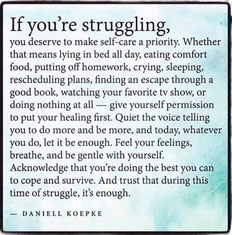 Taking Good Care Of Yourself Quotes
