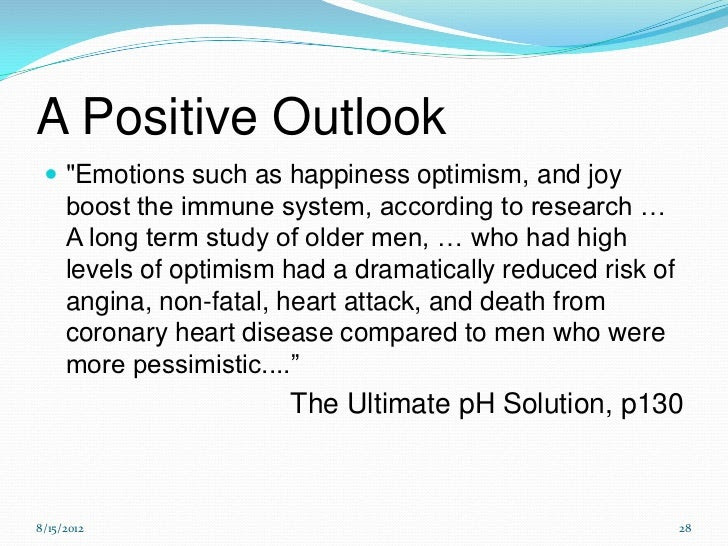 Happiness, Health and Positive Emotions