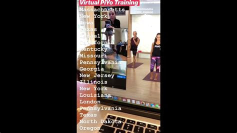 piyo  virtual instructor training youtube