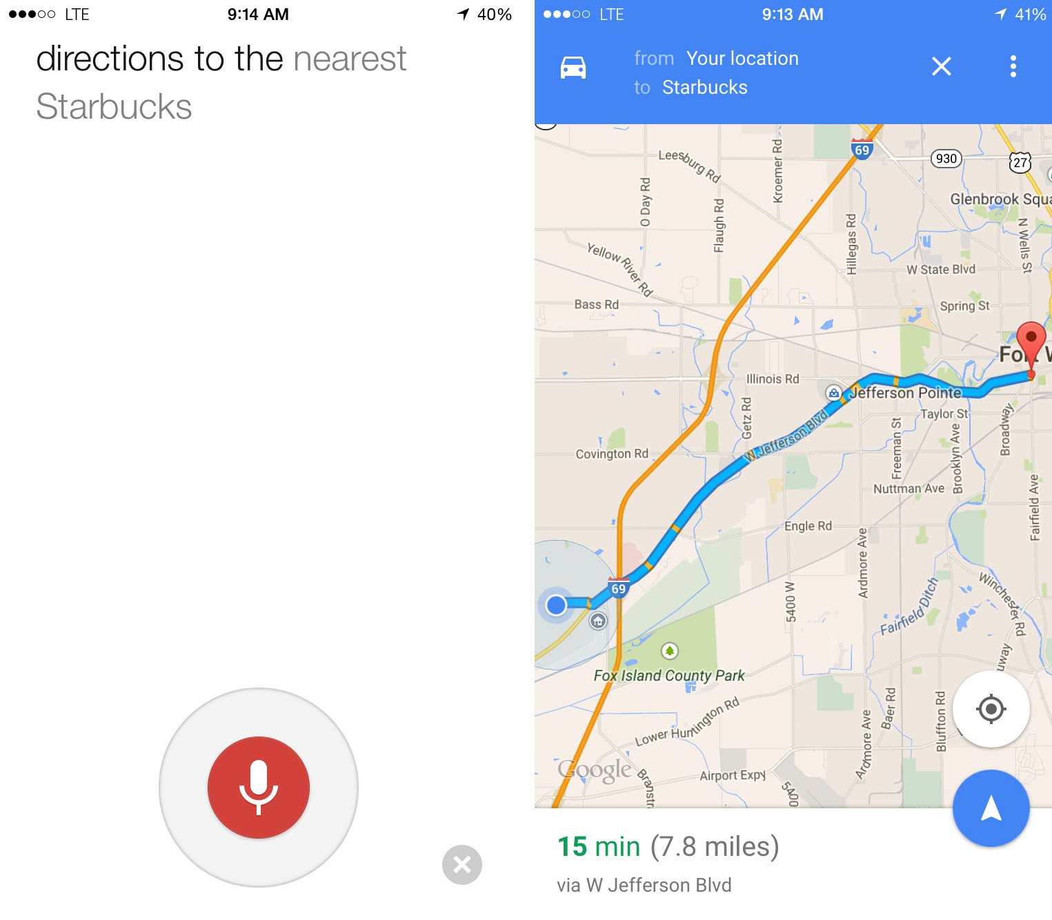 How To Use Google Maps With Your Voice On Iphone