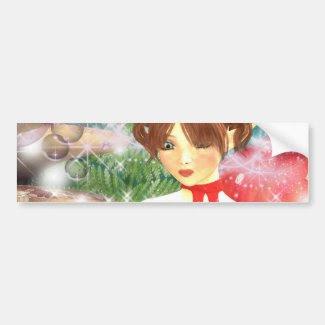 Flower Hunt Bumper Stickers