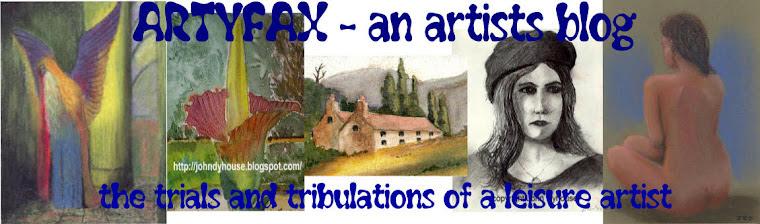 Artyfax - an artists blog