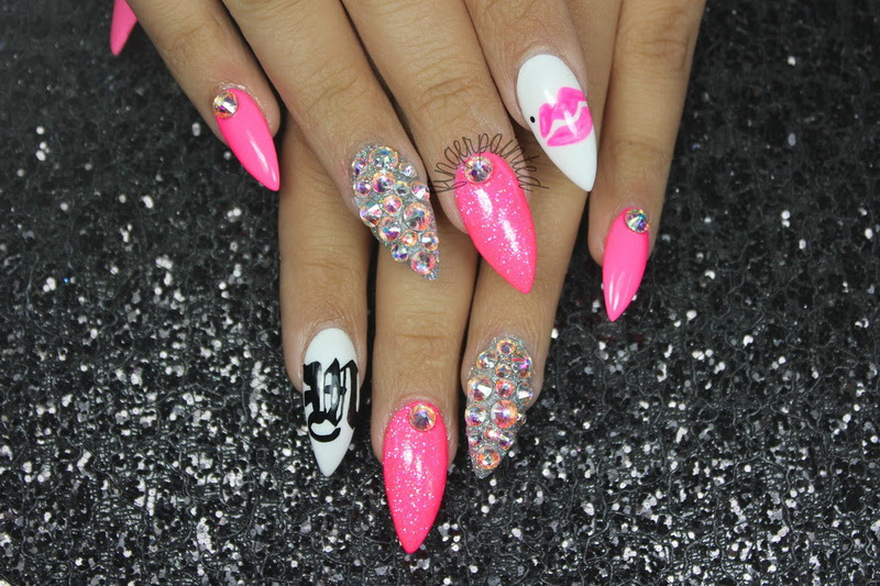 Long Stiletto Nail Designs | | Ucapan Pernikahan
