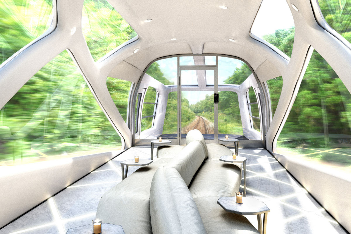 O interior do Shiki-shima: o trem mais luxuoso do mundo que atravessa o Japão 01