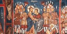 Pinturas murales del Monasterio Lampadistis (CHIPRE)