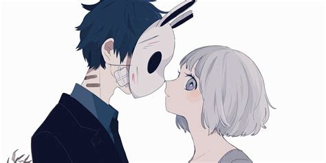 couple cartoon   anime art anime love
