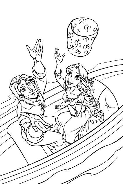 【50 ++】 Coloriage Princesse Raiponce à Imprimer