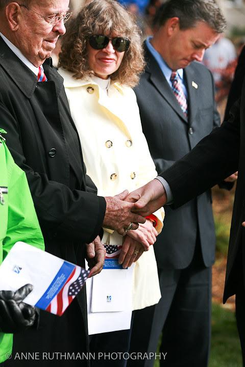 Honoring Veterans Flag Raising-18