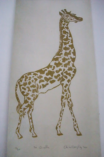 giraffe on angle