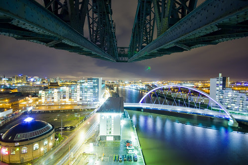 A typical Clyde at Night scene...