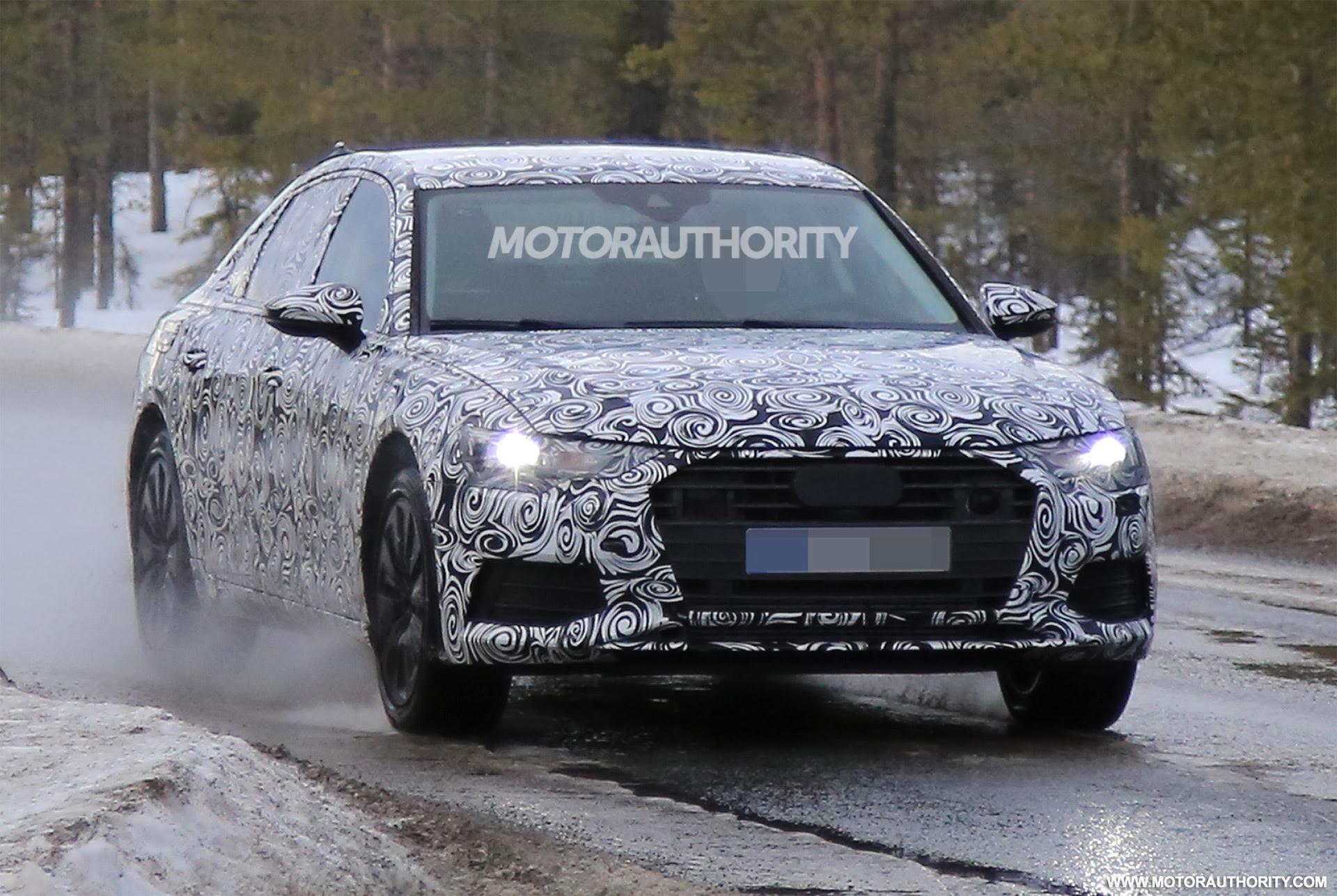 2019 Audi A6 spy shots