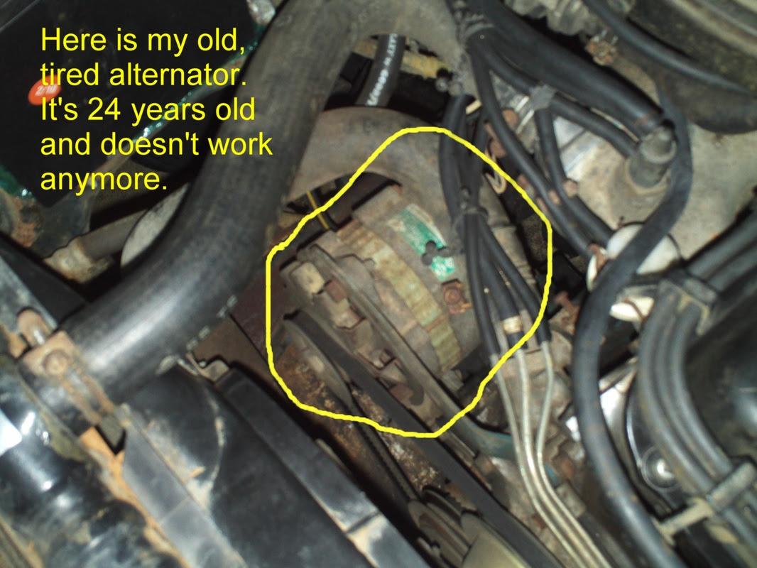 Nissan Murano Alternator Replacement