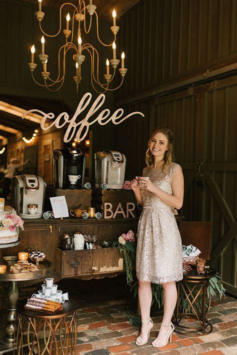 Wedding Ideas for Coffee Lovers   Elizabeth Anne Designs