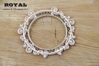 Royal ramka okrągła- round frame