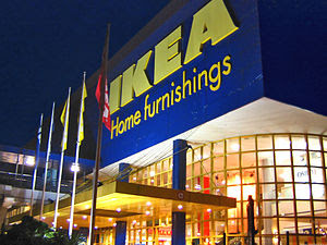 An IKEA Store along Alexandra Road in Queensto...
