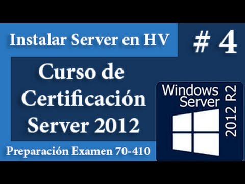 Instalar Windows Server 2012 en Hyper-V