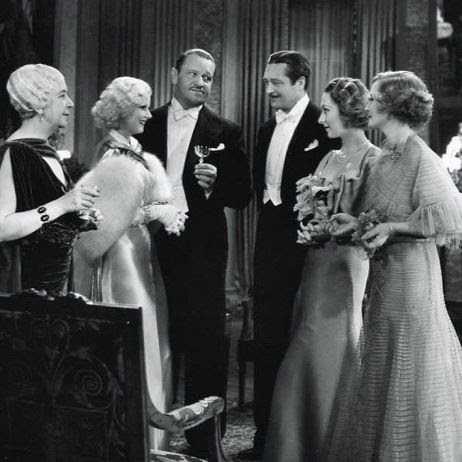 Several cast members of Dinner at Eight